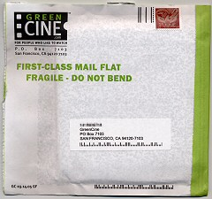 GreenCine Return Envelope