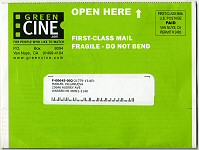 GreenCine's New Envelope (as shipped)